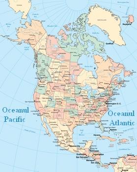 America De Nord Lumea Noua Calator Pe Mapamond
