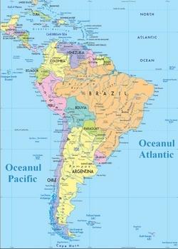 America De Sud America Latina Calator Pe Mapamond