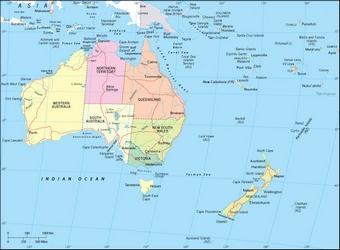 Australia Oceania Continentul Contrastelor Calator Pe Mapamond