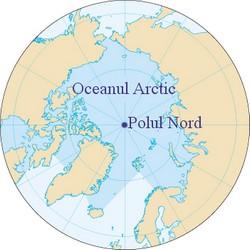 Harta Oceanului Arctic